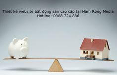 Thiết kế website bất động sản cao cấp tại Hàm Rồng Media