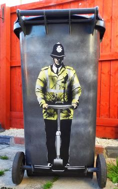 Jamie Scanlon is a UK based street artist who had his life changed after he visited Banksy's museum exhibition in 2009. He got his dose of inspiration and
