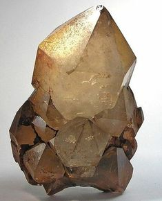 Quartz with inclusions of Goethite, Mexico