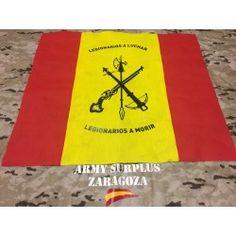 Bandera de Mochila LEGION