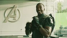 Falcon gif xD ||| Avengers: Age of Ultron