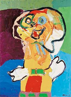 Karel Appel Cobra Art, Tachisme, Cubism Art, Dutch Artists, Joan Miro, Mural Painting, Outsider Art, Cthulhu, Contemporary Paintings
