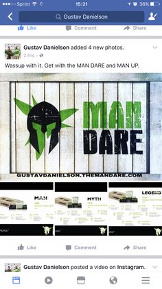 FOR ALL YOU MEN OUT THERE LOOKING FOR A START OF A NEW BEGINNING IN THE BUSINESS OR JUST A NEW YOU. ITS HERE MAN DARE WITH IT WORKS.