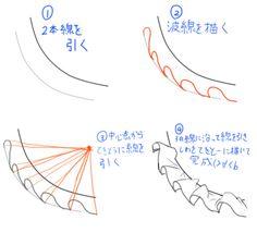 「フリルの描き方」/「air」のイラスト [pixiv]