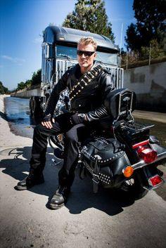 Race to the Scene Dolph Lundgren For Duke Nukem and the T800 in Terminator 5.
