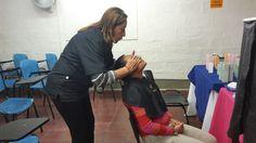 @Escolmeeduco Nuestros empleados participan de la jornada de Salud Facial