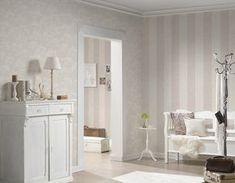 A.S. Création Tapete 953691: Tapete, Beige, Weiß, Natur, Floral, Modern, Büro, Flur, Küche, Schlafen, Wohnen, Schlafzimmer, Wohnzimmer
