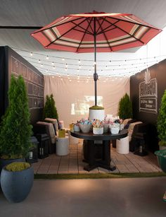 @Danny Seo's designed space at the Lowe's Designer Challenge. Click on the photo to vote for him!