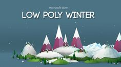 Happy Holidays from the Microsoft store.  Enjoy this season with a warm cup of hot cocoa and an extra large low poly animation that spans the entire length of the Microsoft store.  From a Windows Phone Reindeer to ice skaters gliding across a frozen lake, this 57000 x 1080 pixel animation has lots of holiday cheer all wrapped up inside.  This theme combines the power of both Cinema 4D and After Effects.  Thanks to the new partnership between the two apps this theme allows for Cinema 4D ...