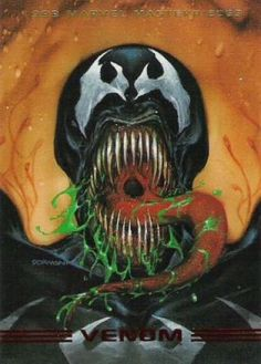 Venom 1993 Marvel Masterpieces