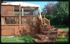 Decks in Treated Wood in West Island of Montreal Best Deck Ideas from Builder, Designer Contractor: https://www.floridasundeck.com