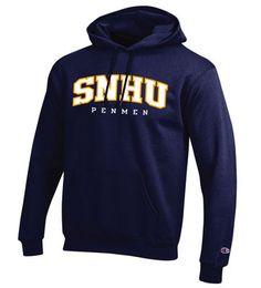 Champion Hooded Sweatshirt #SNHUswag #SNHUgear #penmenpride #snhu