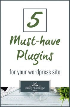 5 Must Have Plugins for your WordPress Site