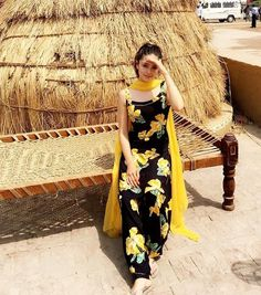 Image result for yellow punjabi salwar suits