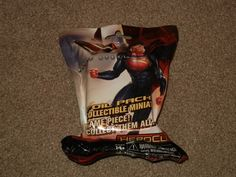 Superman Man Of 'Steel Foil Pack Collectible Miniature (Toys, Game Piece, New)