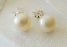 classic oversized stud is extra mm new itm faux earrings loading pearl round xxl large s image