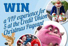 With Christmas just around the corner, it's no surprise that the 2015 Credit Union Christmas Pageant is coming to Adelaide real soon! To celebrate, we're offering one lucky family a money-can't-buy VIP Pageant experience, thanks to People's Choice …