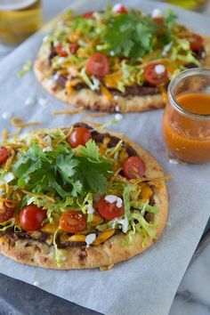 Taco Pizza - What's Gaby Cooking