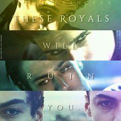 Royal boys