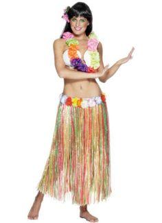 hawaiian costume #diy #halloween #costume