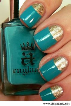 Awesome combination - Blue and gold