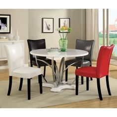 Sudoku Contemporary Gathering Set Table4 Counter Chairsdining Adorable Dining Room Sets Online Decorating Design
