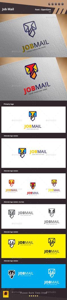 Job Mail Logo Template