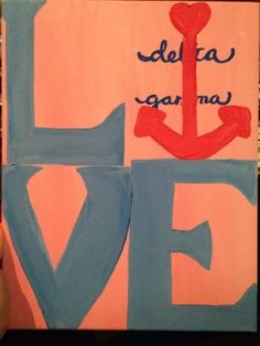 Delta Gamma, Custom Canvas Crafts from SororiT's, https://www.etsy.com/listing/203765540/made-to-order-custom-sorority-canvas?ref=shop_home_active_1