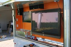 Creating the ultimate tailgating trailer