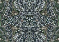 city through a kaleidoscope