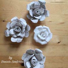 Mit unserem Gonis Kleber namens RubbelColl sind aus Eierkarton schnell diese hübschen Rosen gezaubert.  www.gonis.de/Shop Bitte meine Beraternummer ID1135240 eingeben. Danke