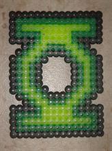 Green lantern Perler® | Gallery