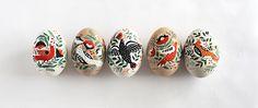 Hand Painted Easter Eggs by Dinara Mirtalipova | www.mirdinara.com