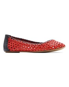SdP Mango Ballerines rouges de Mango Ballerine Rouge, Chaussure Printemps,  Chaussures Femme, 56cb1a0c673b
