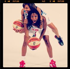 Angel and Lindsey at Media Day 2012