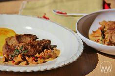 V kuchyni vždy otevřeno ...: Kančí medailonky s liškami