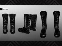 TSR / MissFortune's MFS Ruched Boots