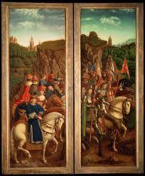 Los Jueces Justos Hubert Van Eyck,Jan Van Eyck 1432