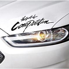 Auto-styling Concurrentie Patroon Auto Sticker Voor Auto Motorfiets auto-covers Rally Reflecterende 3D Sticker Voor renault opel vw bmw