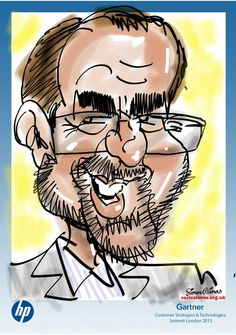 DIGITAL CARICATURING is never going to replace the satisfaction working with ink on paper. But it is a very easy way of producing something in full colour on the spot and, by emailing the results, not loading down people with extra pieces of paper to take home.