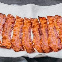 This To Cook Bacon In The Oven Perfectly Every Time Savory Tooth is a good for your Lunch made with awesome ingredients! Strawberry Nutrition Facts, Pasta Nutrition, Cooking Bacon, Cooking Recipes, Cooking Tips, Gourmet Recipes, All You Need Is
