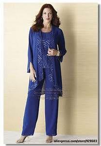 Aliexpress.com : Buy Plus size Royal Blue Chiffon three ...