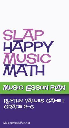 Ideas Music Education Rhythm Lesson Plans For 2019 Music Math, Music Classroom, Music Games, Rhythm Games, Music Music, Sheet Music, Elementary Music Lessons, Piano Lessons, Elementary Schools
