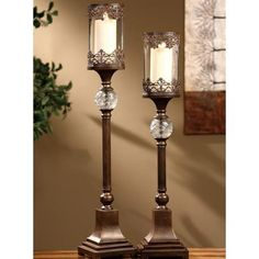 Crestview Collection Ashland Candleholders Set of 2 -