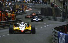 Alain Prost - Renault RE30B - 1982 Monaco Grand Prix