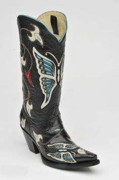 Corral® MultiColor Butterfly and Flower Boot f Corral Boot, http://www.amazon.com/dp/B008UFDQYE/ref=cm_sw_r_pi_dp_2Wbpqb01311YY