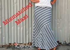 Super simple pattern to make maxis. I'm going to make a bunch. icandy handmade: (Pattern) Everyday Basics 3: Maxi Mayhem