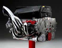 einspritzer:  Ferrari formula 1 engine (08) 2,4 Litre. 8 Cylinder. 95 Kg. 18000 Rpm. 730 Hp.