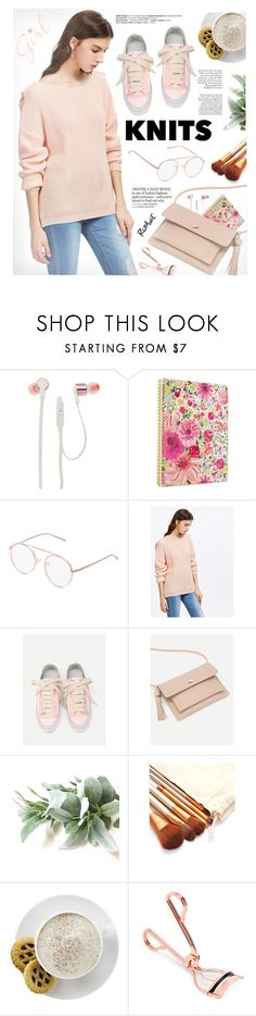 """Knits - Pink"" by yexyka ❤ liked on Polyvore featuring JBL, Kate Spade and Mr. Coffee"