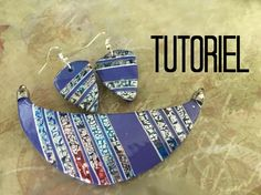 Pinata ink & metal leaf - 3 minutes. ~ Polymer Clay Tutorials